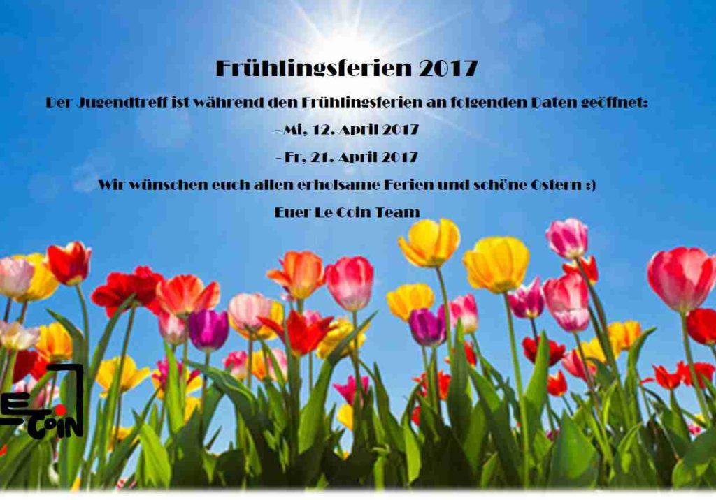 Frühlingsferien 2017